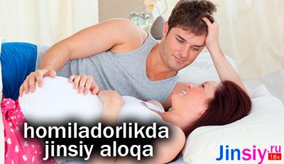 homiladorlikdavrida jinsiy aloqa xaflimi?