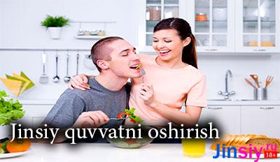 Jinsiy quvvatni oshirish-10 ta maslahat