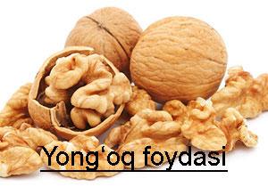 Yong'oq foydasi