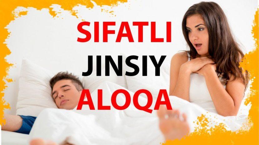 JINSIY ALOQA SIFATINI OSHIRISH
